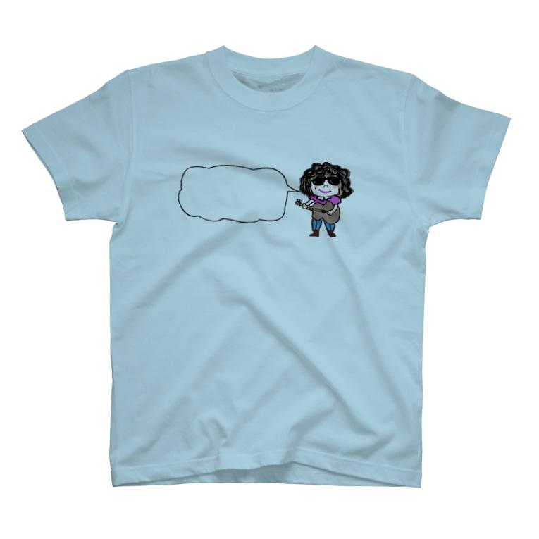 Arcoirisocoのギターラ T-shirts