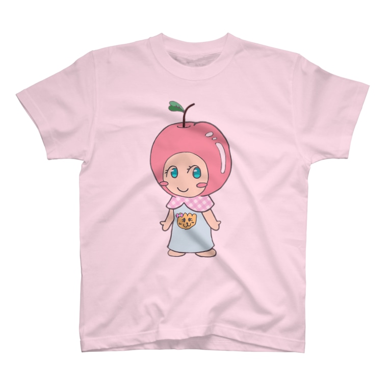 えみりんごshopのえみりんごちゃん T-shirts