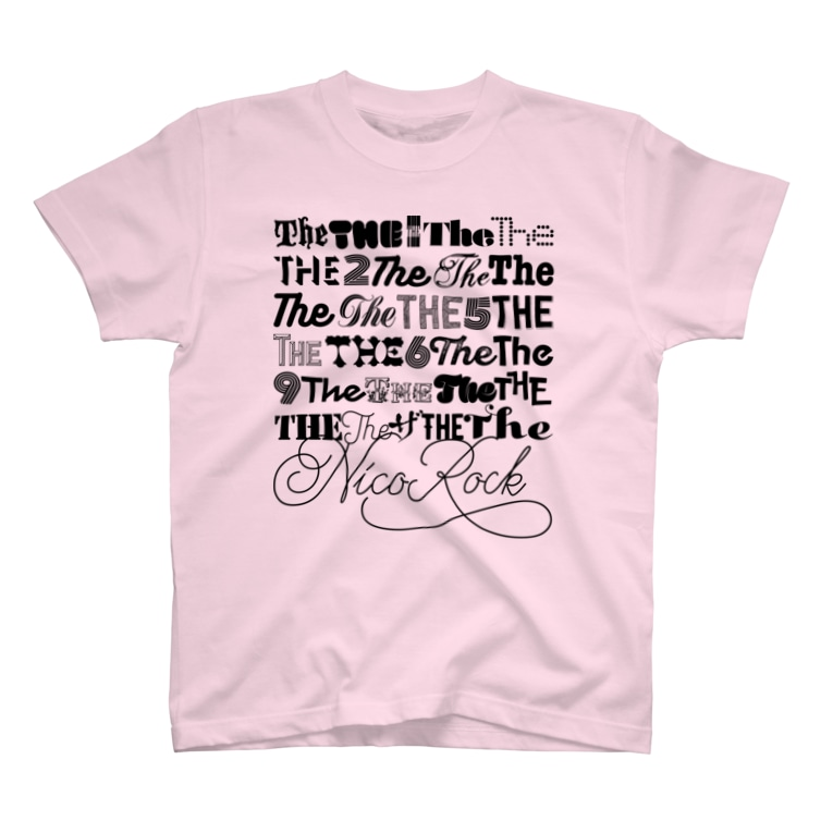 NicoRock 2569のTHE2THE5THE6THE9 T-shirts