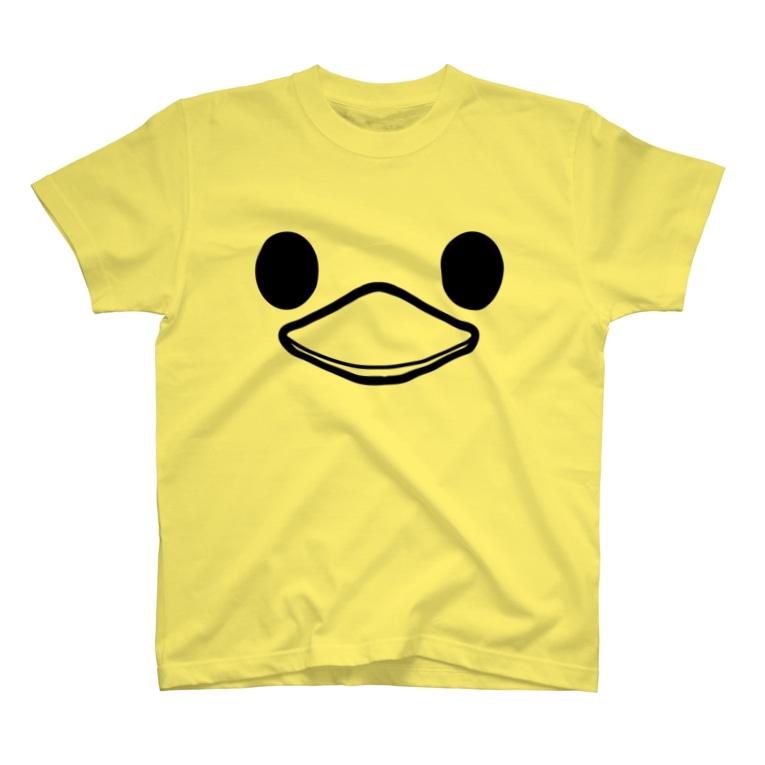 千田純生のトリちゃん T-shirts