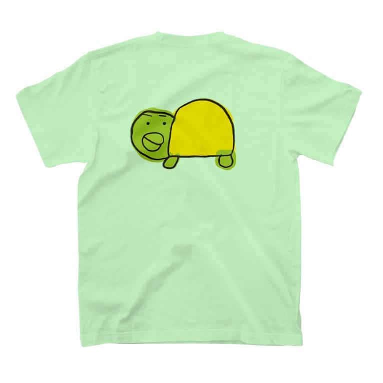 ハロー! オキナワのプチっとカメ T-shirts