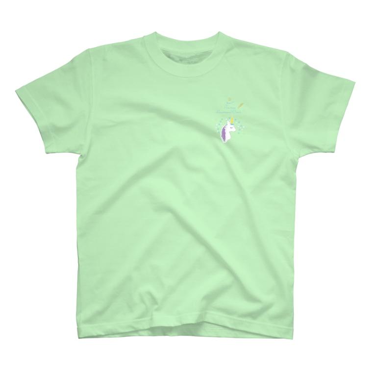 hosi7 ほしななのユニコーン T-shirts