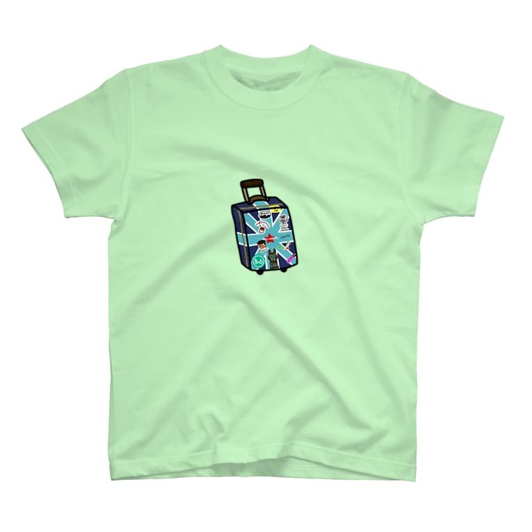 ラクガキヤぐっず♨︎のマコのお絵かきトランク T-shirts