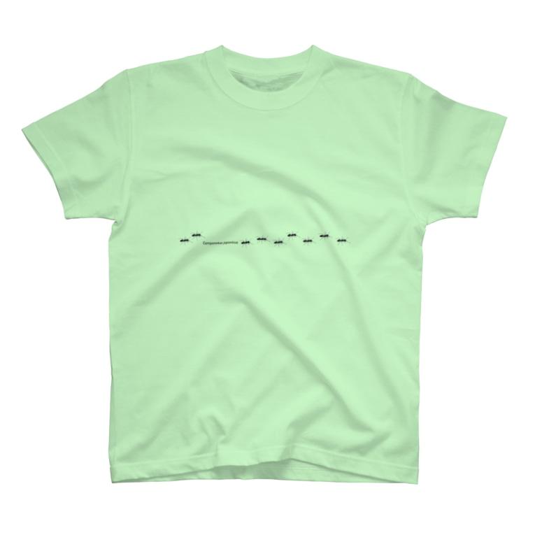 L_arctoaのクロオオアリの行列 T-shirts