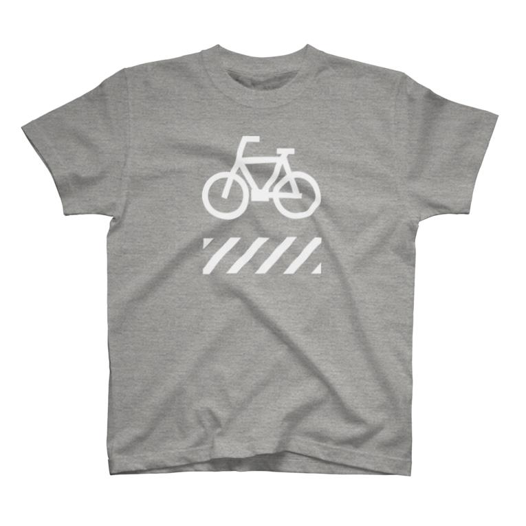 johnmacnの自転車と横断歩道 T-Shirt
