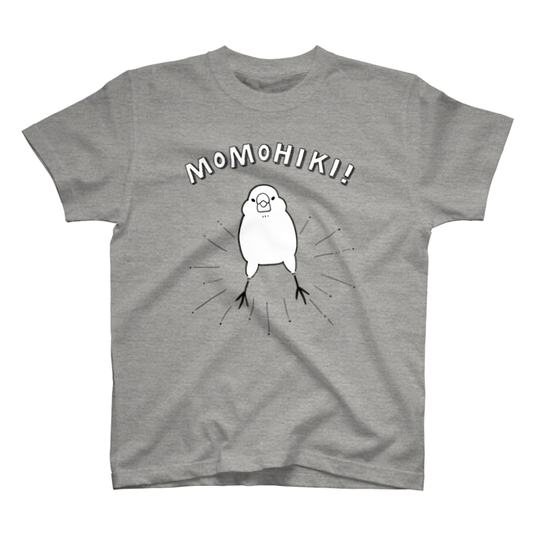 Dear Nina(文鳥中心)のMOMOHIKI文鳥 T-shirts