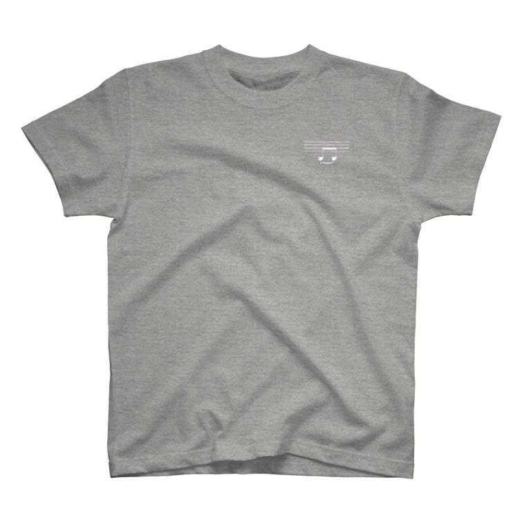 Music itemsのスマイルおんぷW T-Shirt