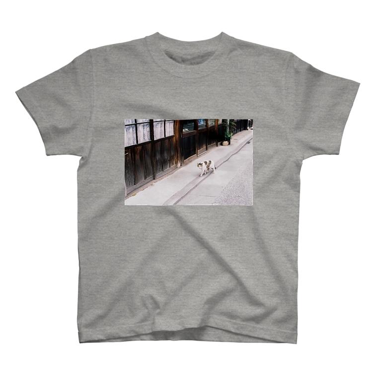 yohのご近所猫 T-shirts