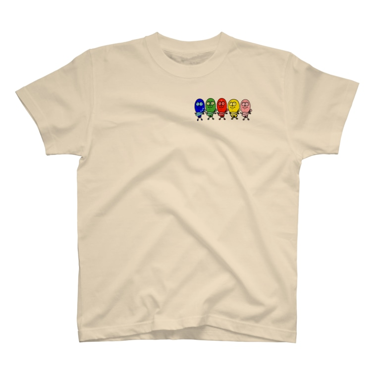 egg Mのたまごレンジャーズ。字なしVer. T-shirts
