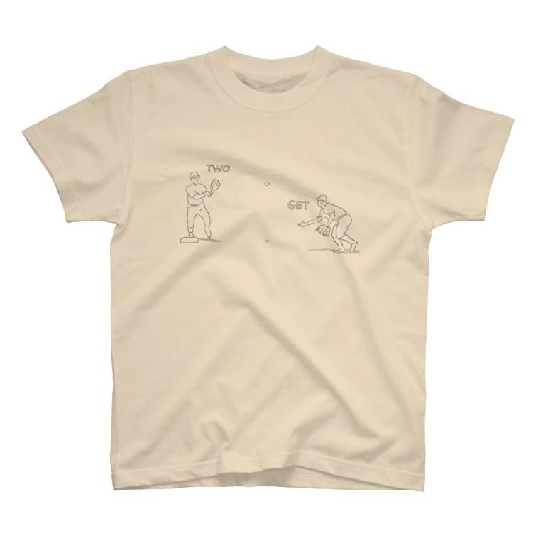 jibunnhaのゲッツー T-shirts