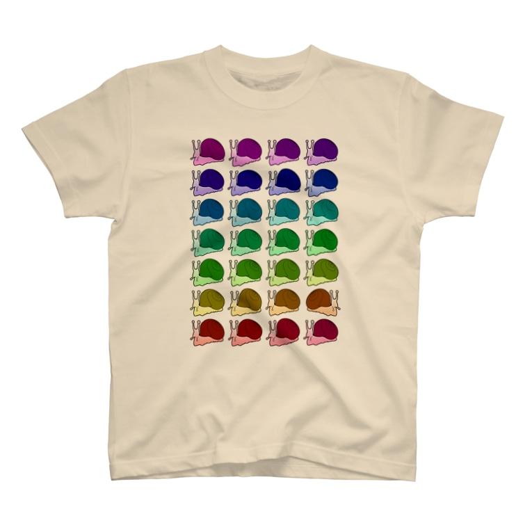 mizmama0129のSnail02 T-shirts