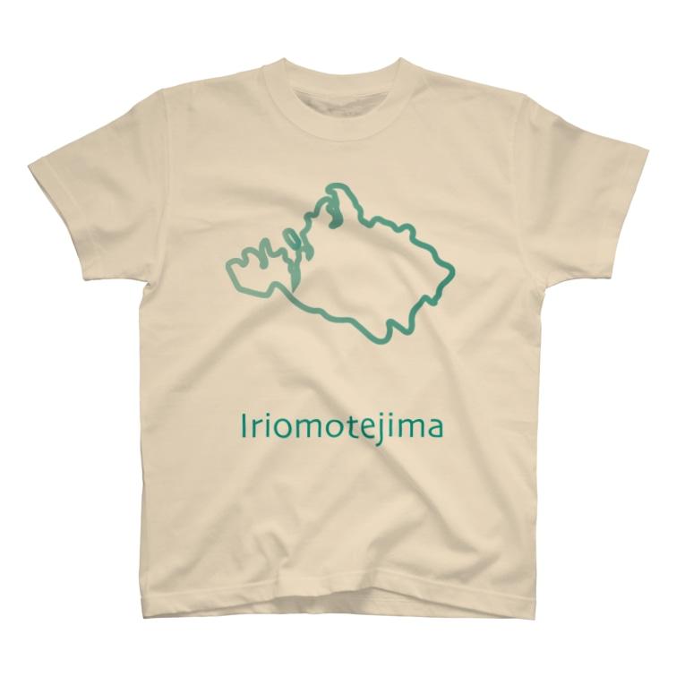 ハロー! オキナワの西表島 T-shirts