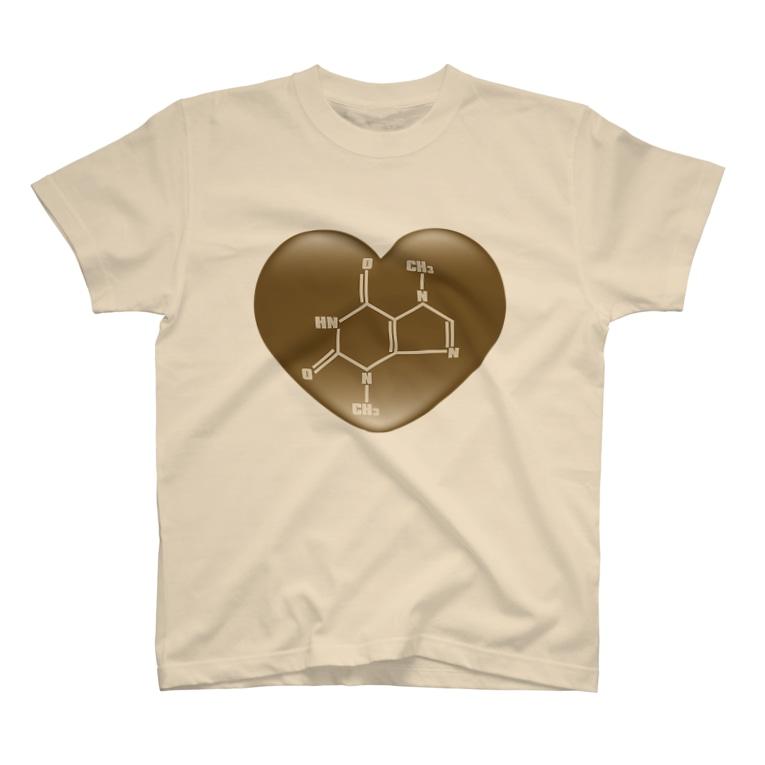 AURA_HYSTERICAのChocolate T-shirts