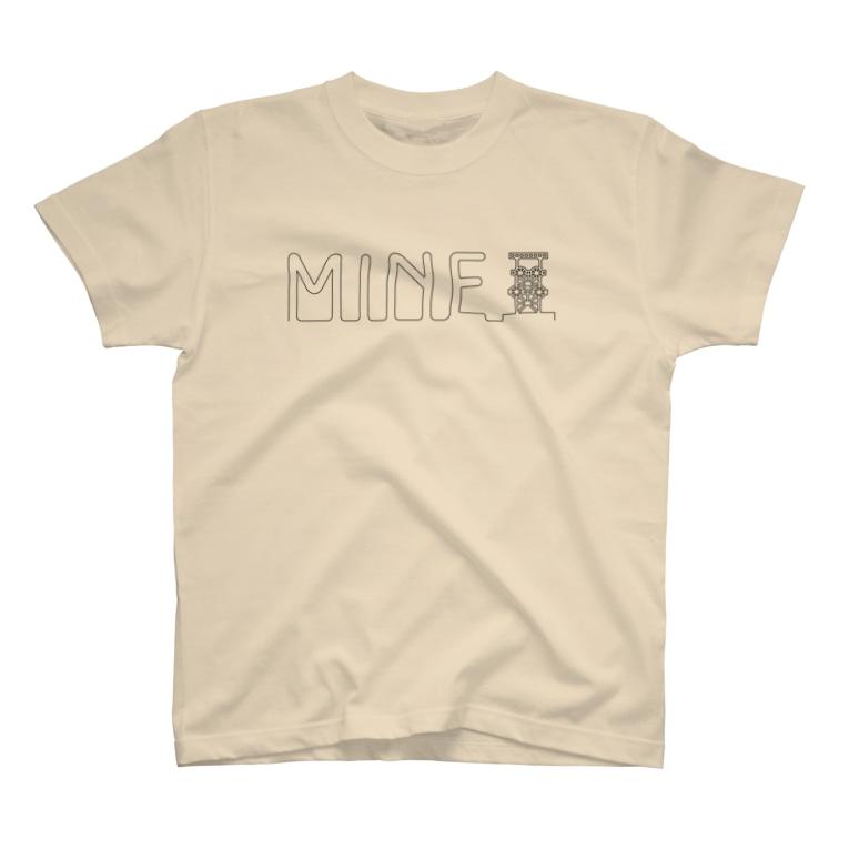 カニデザインのわたしのコールマイン T-Shirt