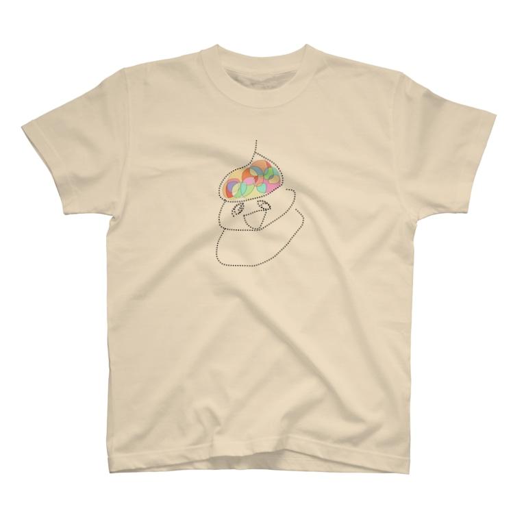 ふぁーこのおもいで市場のおしりからのプレゼント T-Shirt
