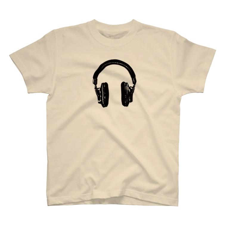 kaworu★SHOP@SUZURIのkaworu★ヘッドフォン T-shirts