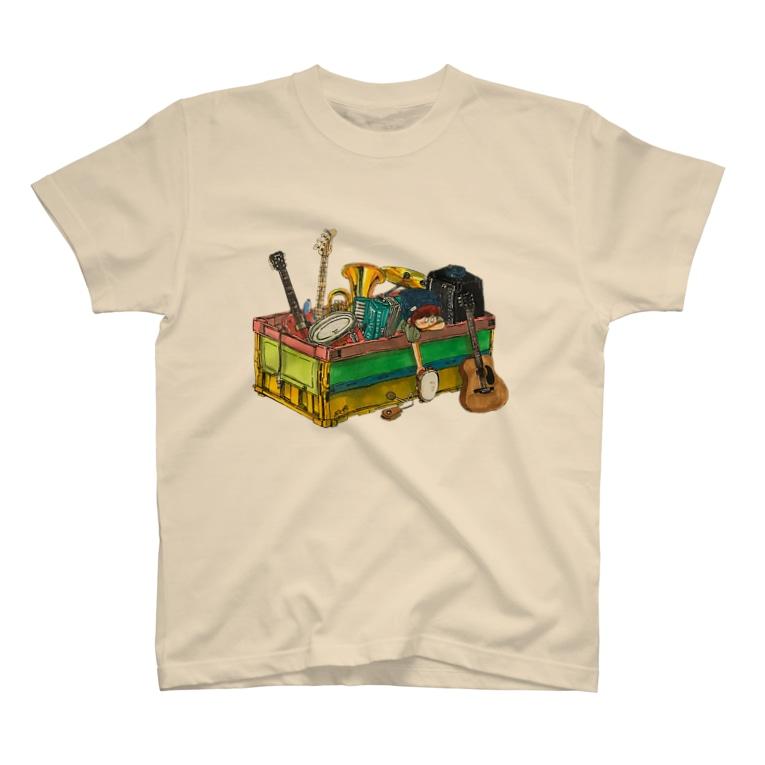 ヨシサコツバサのbox T-shirts