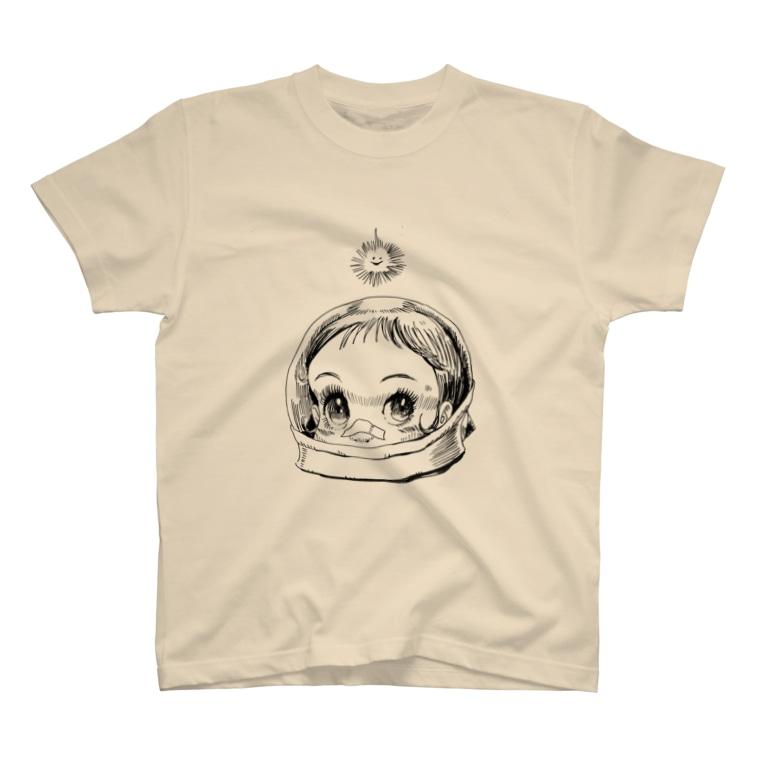 ヤノベケンジアーカイブ&コミュニティのヤノベケンジ《サン・チャイルド》(太陽の子) T-shirts