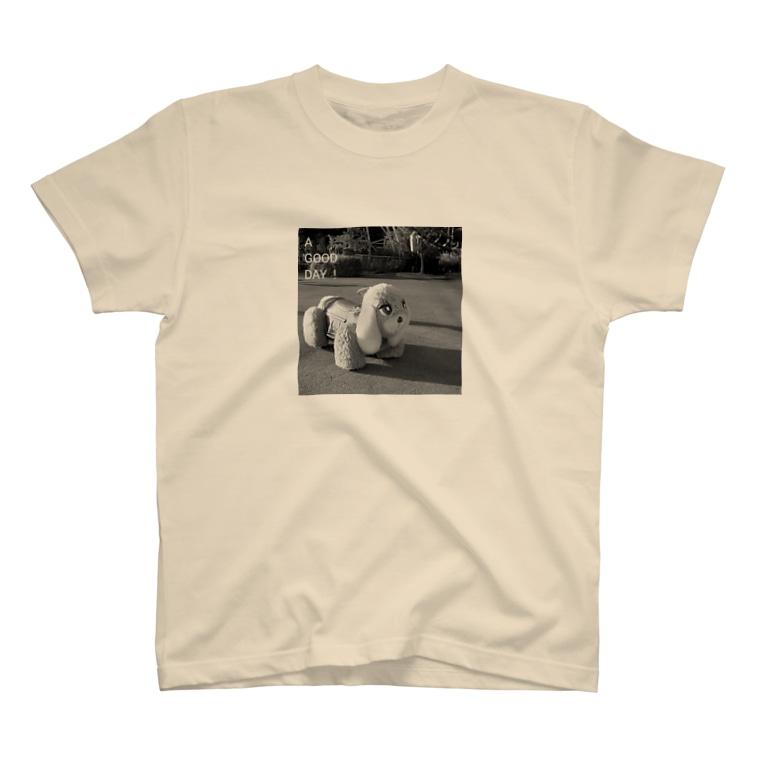 kazaruruのメロディーカー/モノクロ T-shirts