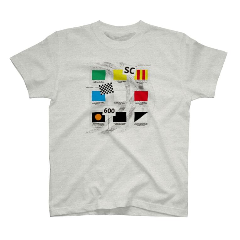 あるルートのMotorsports FLAGs T-shirts