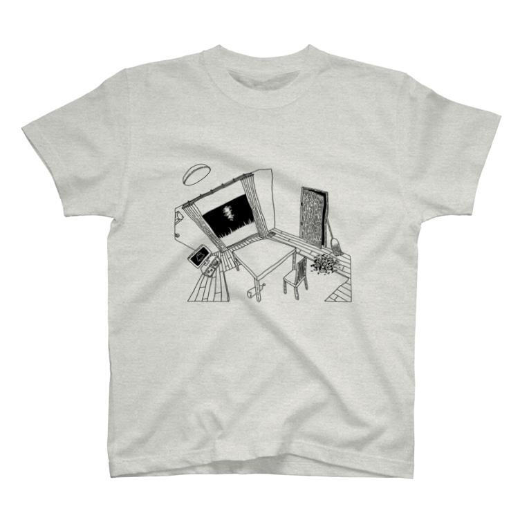 👻📗のかもめE-Tシャツ T-shirts