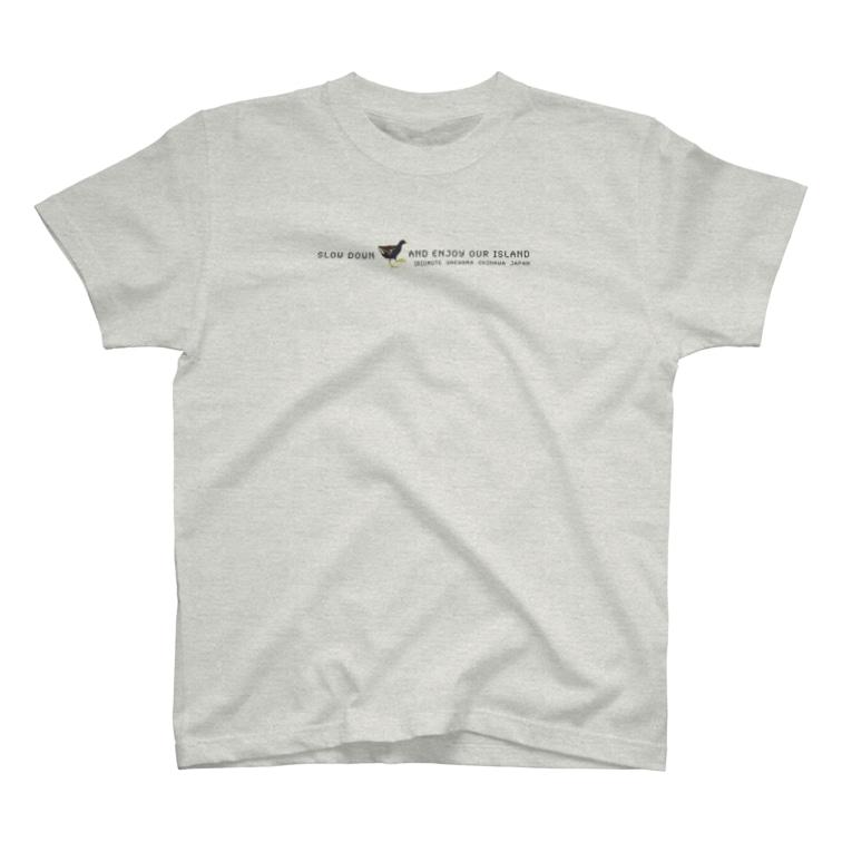 しまのなかまfromIRIOMOTEのしまのなかまSLOW バン T-shirts