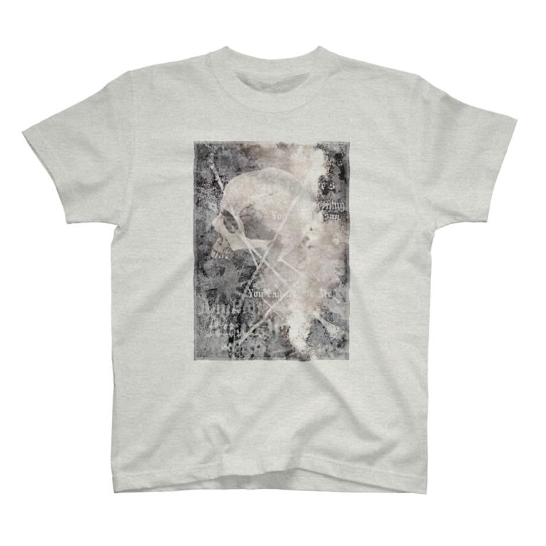 nanaqsaのtalk to me T-shirts
