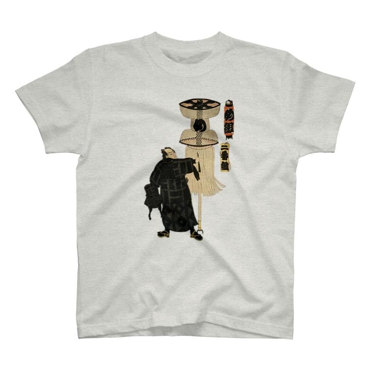 Rigelの江戸の花子供遊び 二番組め組 Tシャツ T-shirts