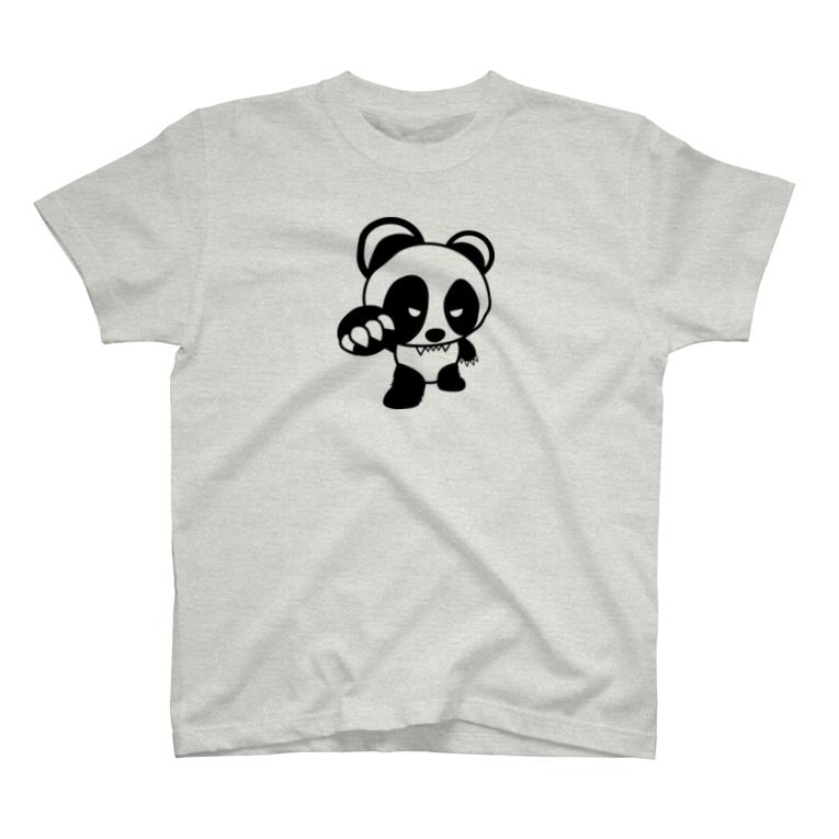 BASE forのBASEfor PANDA アルファ T-shirts
