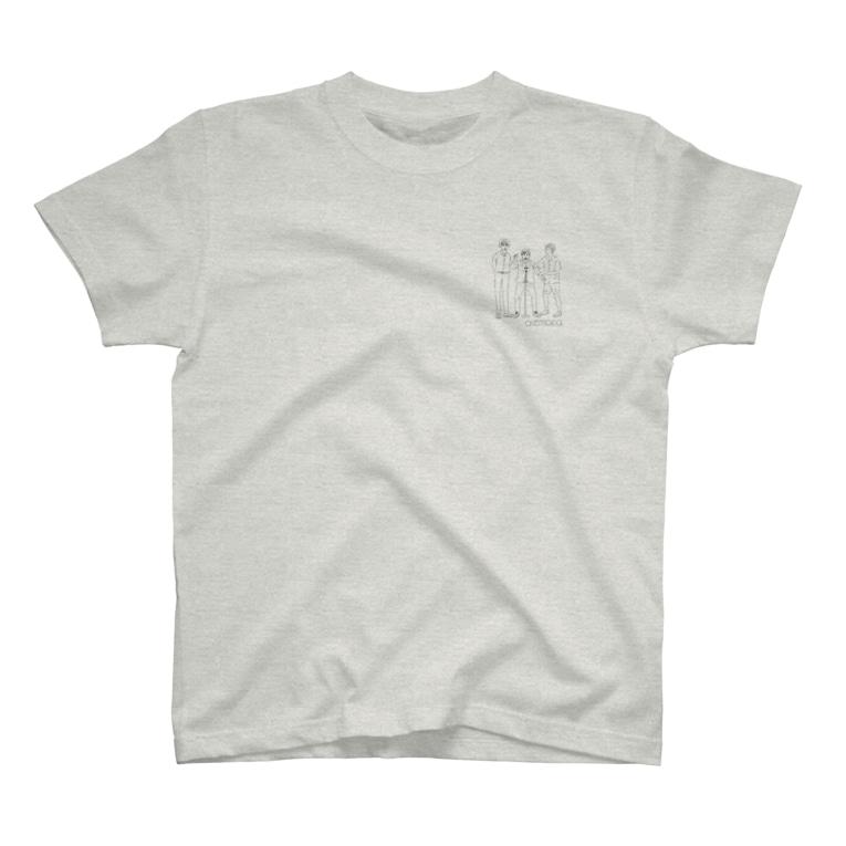 ウェイビジョンのオレマカイラスト(線画) T-Shirt