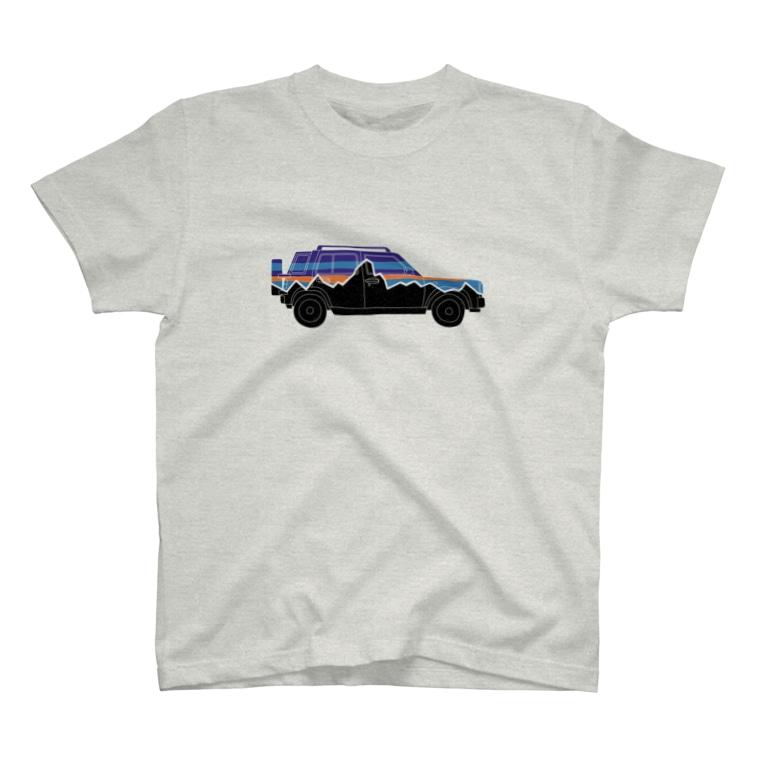 部屋とデニムとわたしのrasheeniaリアルシルエット T-Shirt