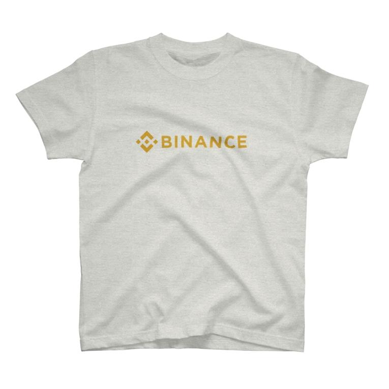 暗号資産【仮想通貨】グッズ(Tシャツ)専門店の仮想通貨取引所 BINANCE T-shirts