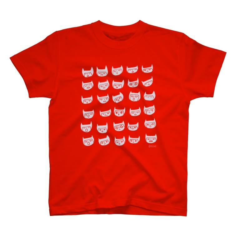 nicovoのウタの百面相A T-Shirt