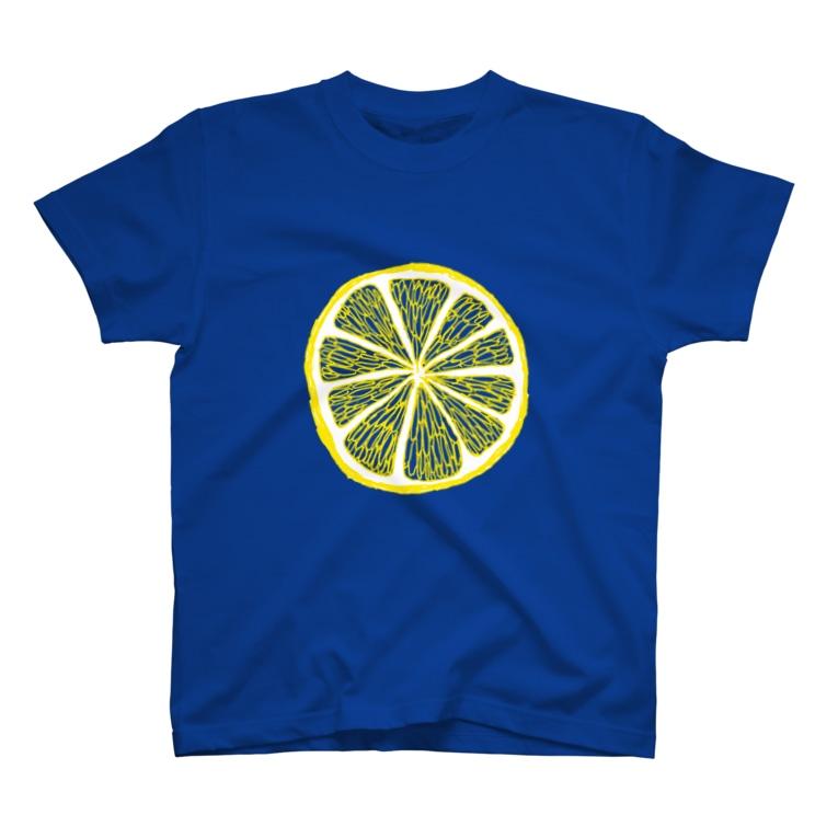NIKORASU GOの「この夏のおすすめ「レモンの輪切り」 T-Shirt