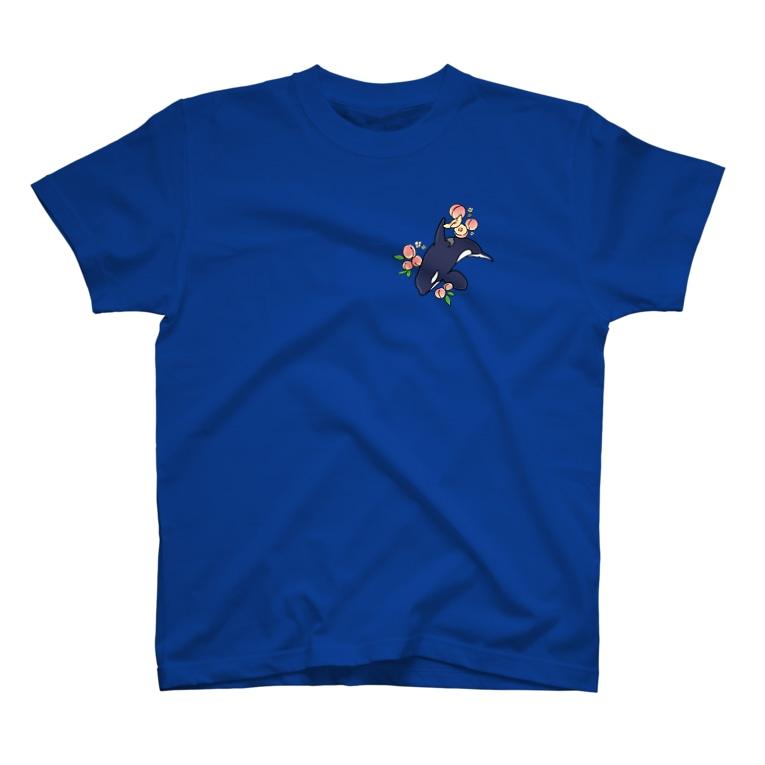 恋するシロクマ公式のTシャツ(ピーチ) T-shirts