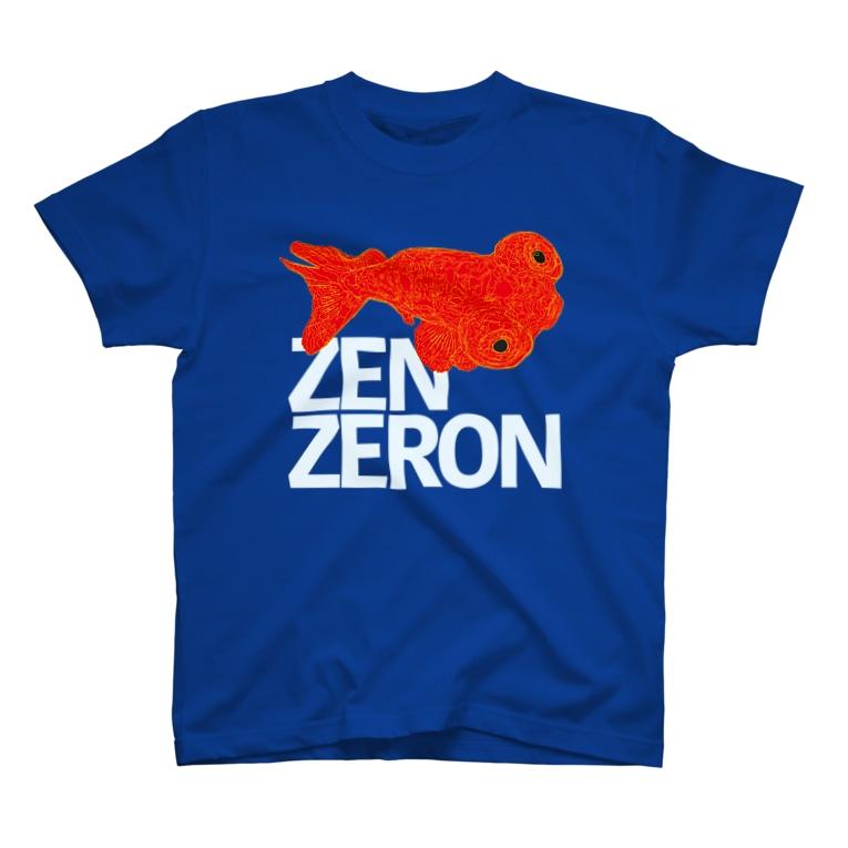 ZENZERONのZENZERON076(頂天眼) T-Shirt
