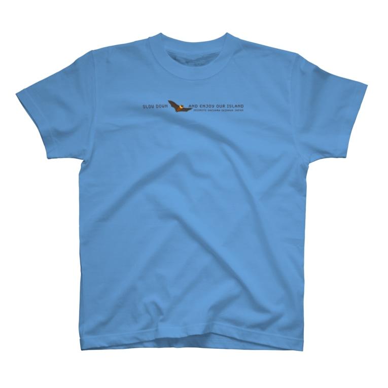 しまのなかまfromIRIOMOTEのしまのなかまSLOW ヤエヤマオオコウモリ T-shirts