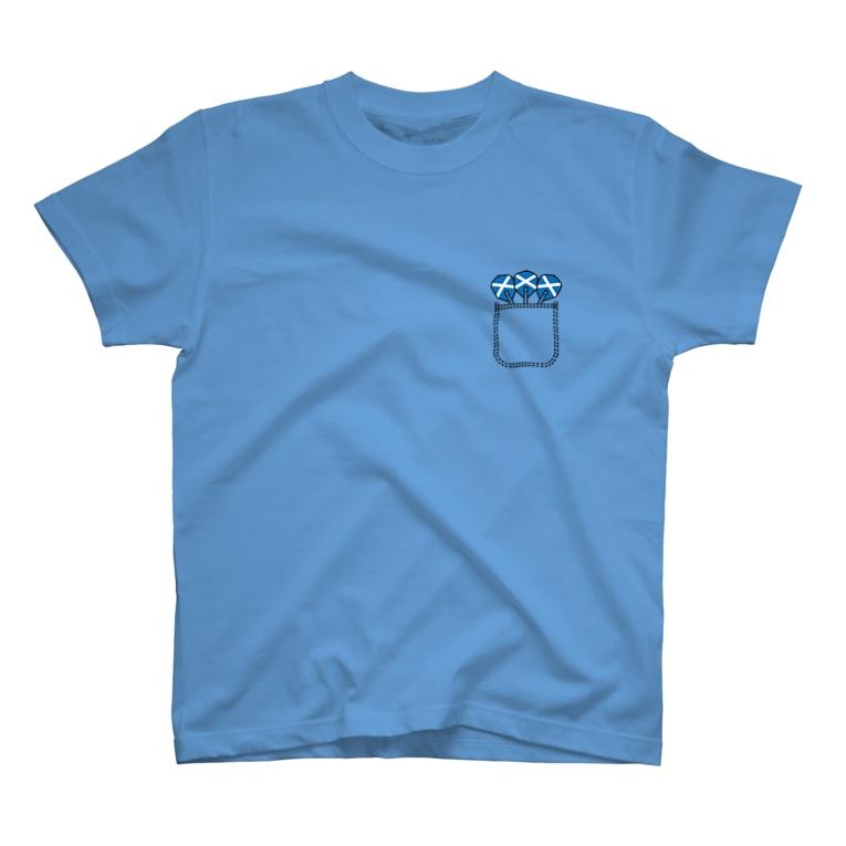 Japaneseguytv Online StoreのScotland Darts T-Shirt T-Shirt