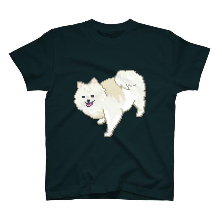 ソケットれんちのポメラニアン T-shirts