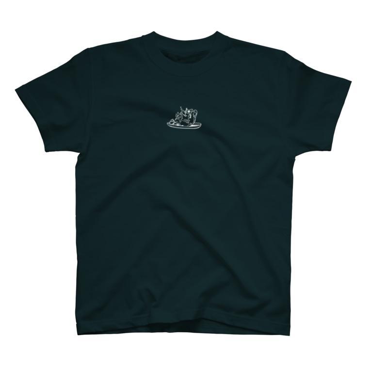 majoccoの世界の食べ物 T-shirts
