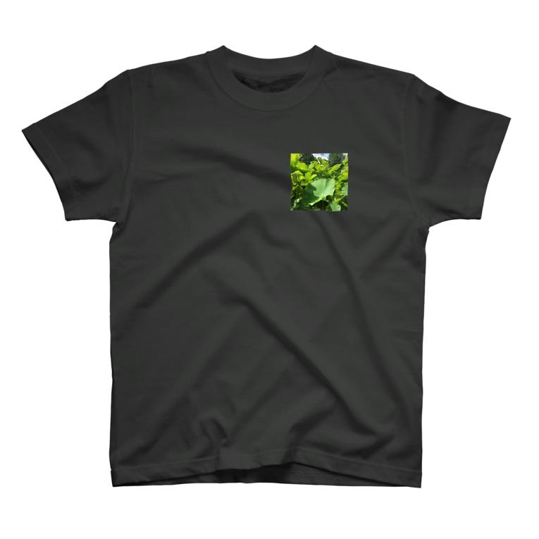 maricarpaccioの蓮の葉 T-shirts