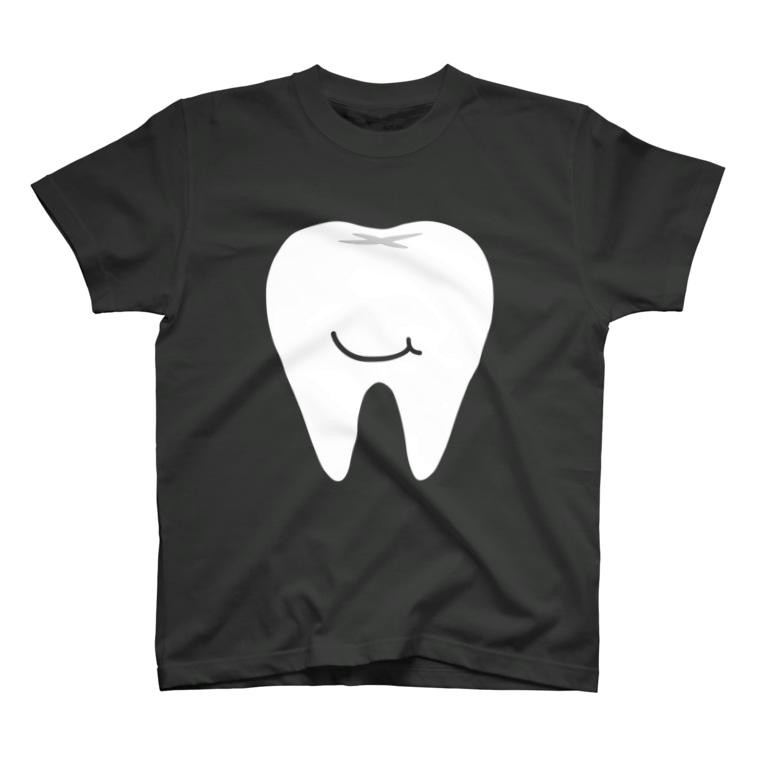 三重殺セカンドの店のsmile teeth T-shirts