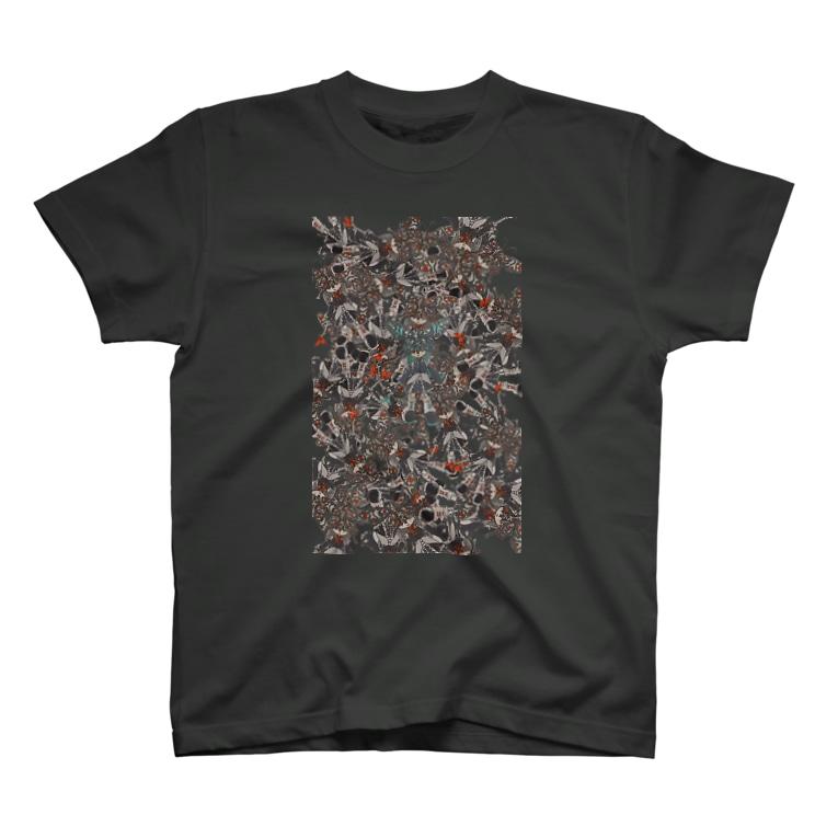 案山子堂の揚羽蝶 T-shirts