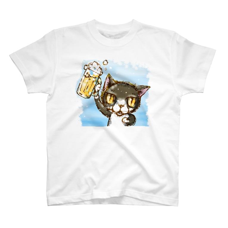 にゃんぱーーい! Tシャツ