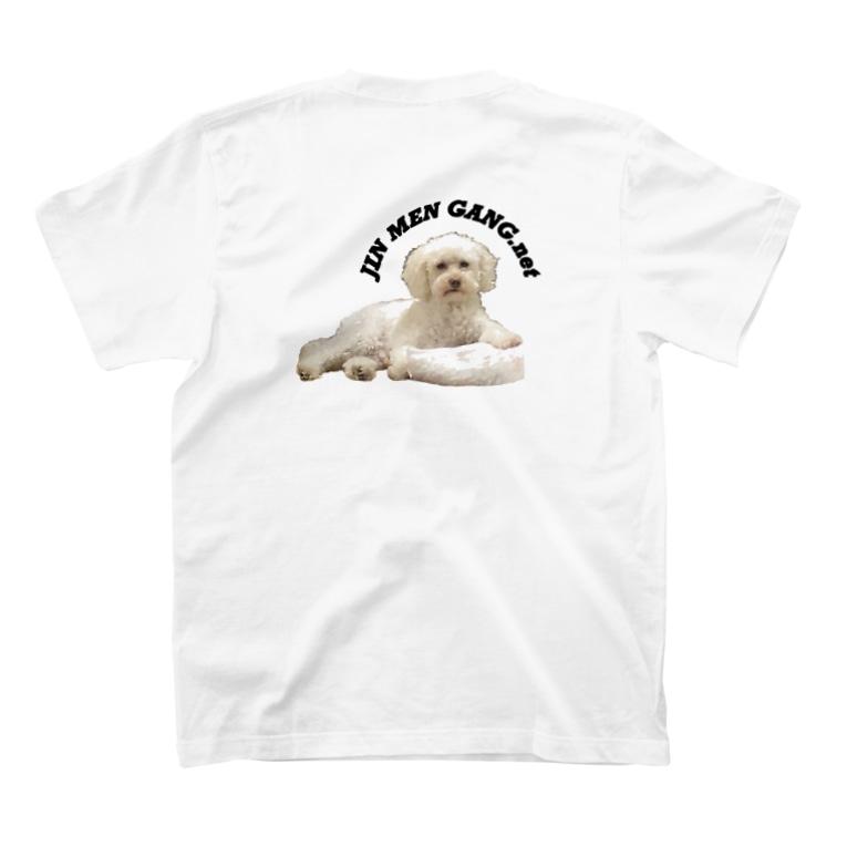 BONE_ONLINEのじんめん T-shirtsの裏面