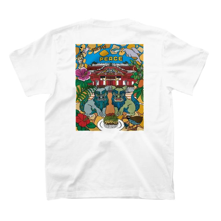 CHEBLOの首里城チャリティグッズ T-shirtsの裏面