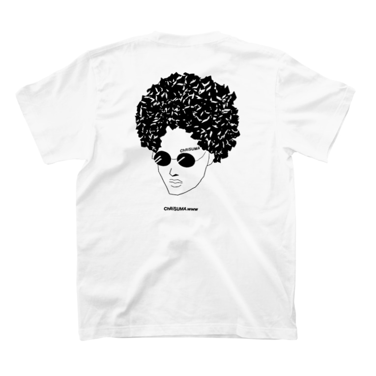ChRiSUMAのChRiSUMA AFRO ChRiSUMA  T-Shirtの裏面