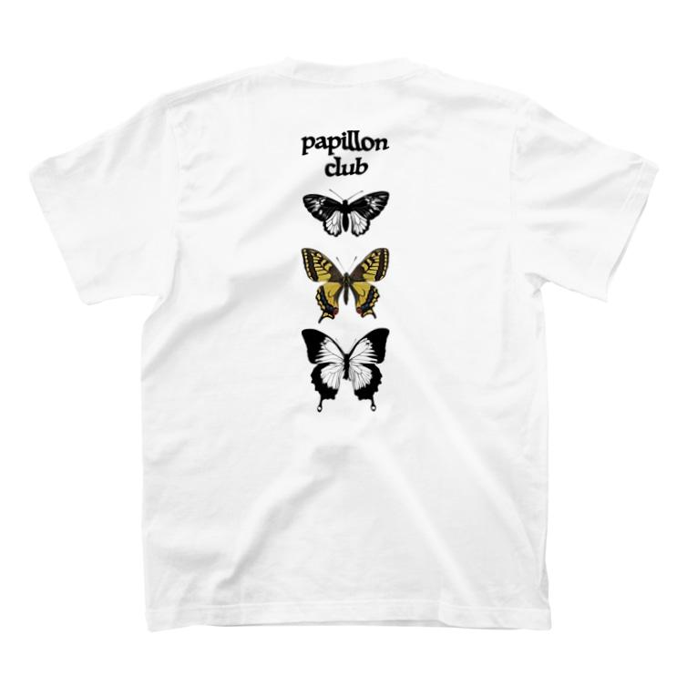srgmanのpapillon club T-shirts