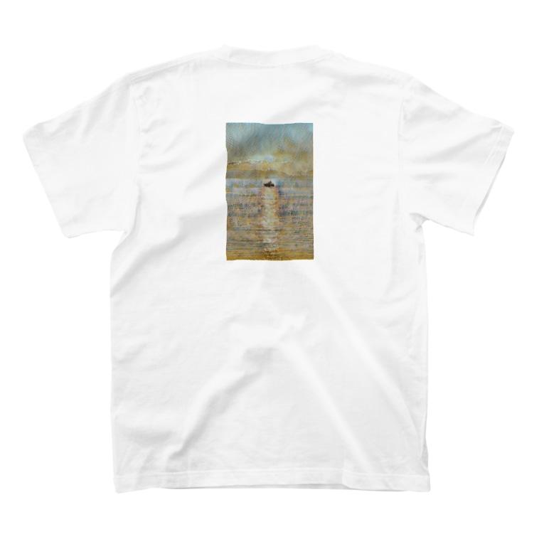 MASSAMAN&Co.のSunrise T-shirtsの裏面