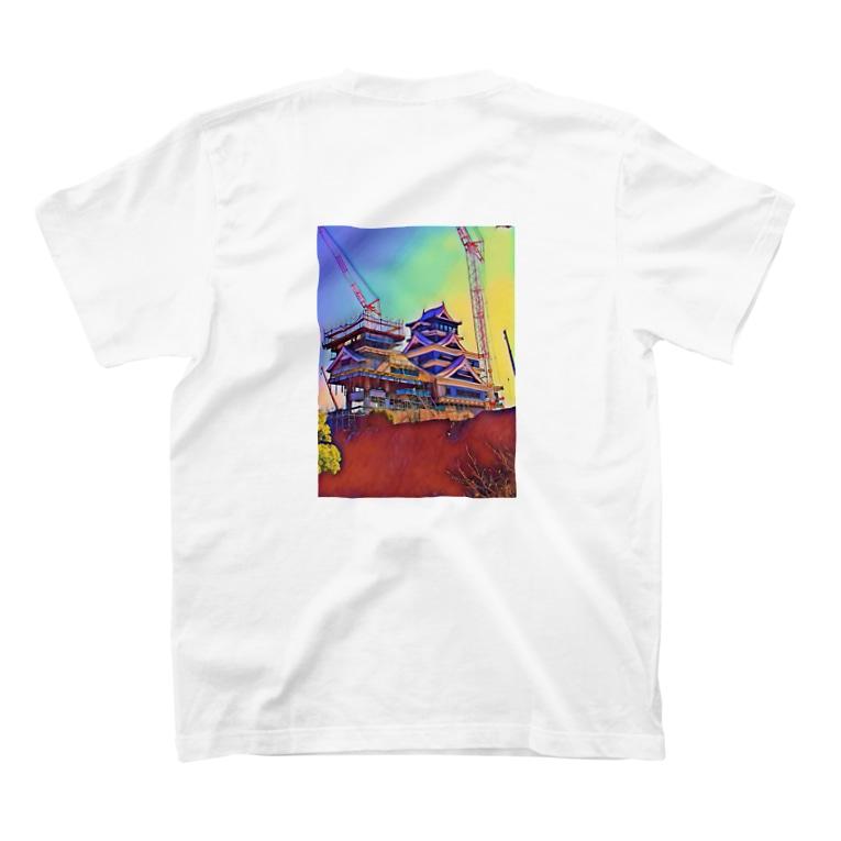 サのメカ城-2- T-shirtsの裏面